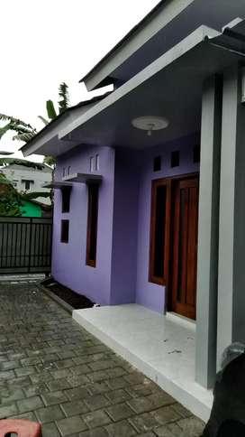 Rumah baru jadi di kontrakan per tahun