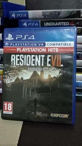 Resident evil 7 biohazard ps4 re7 re 7 ori asli berkualitas murah