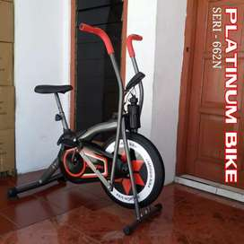 Sepeda fitnes New Platinum bike 2 fungsi Best central sport