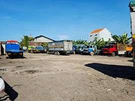 Dijual Tanah Berbek Sidoarjo, Saat ini terpakai utk Garasi Truk