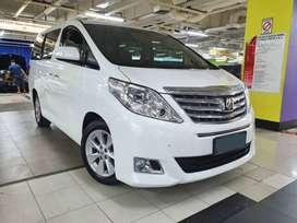 Toyota Alphard 2.4 x Atpm 2012 Facelift Service record