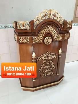 Mimbar masjid ar rahim