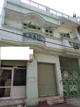 100 YARD DUPLEX HOUSE WITH SHOP 82 LAC(JAGRATI VIHAR GARH ROAD)