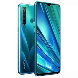 Realme 5 pro full box lady used phone
