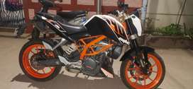 Duke 390,14.2 km only driven,good condition