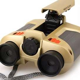 Night Scope 4 x 30mm Binoculars with Pop-Up Light / Teropong