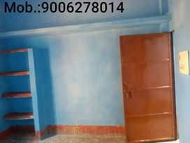 One Room & kitchen available for rent.
