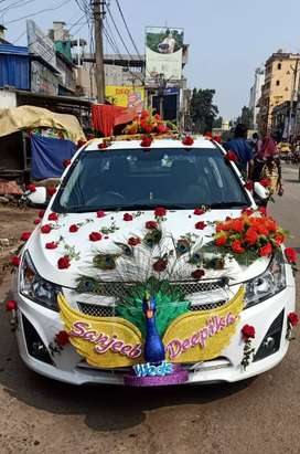 Chevrolet CruZe with SunRoof available for Marriage Procession