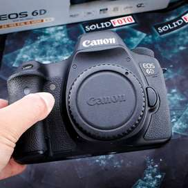 Canon 6D Wifi. Body Only. Fullset. murah banget