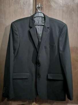 Jas Suit Carthago Black Size XL Like New Seperti Baru
