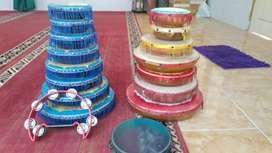 Rebana rumbai full set