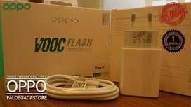 Charger Oppo A9 2020 VOOC Type C Flash Fast Charging ORIGINAL GARANSI