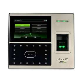 zkteco uface 800 face time attendance machine low price