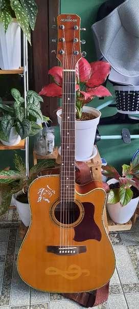 Jual gitar akustik elektrik
