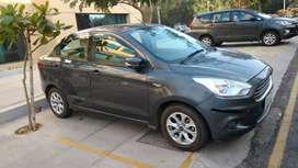 Ford Aspire Titanium 2015 Petrol Well Maintained