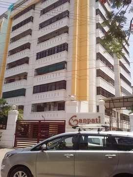 Three BHK flat for rent in ganpati apartment Lanka vns