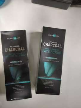 Healthkart Activated Charcoal Face Scrub Bulk Qty