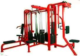 we are meerut bassed gym equpiment manufacture .  we supply new gym se