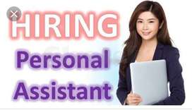 Required Female For Personal Secretary, Office Assistant
