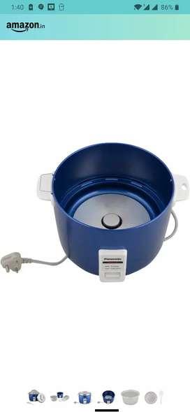 Panasonic 660-Watt Automatic Cooker Warmer 4.4 Litre (Blue)