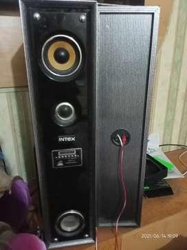 Intex Dual speakers in good condition