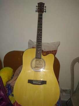 Kadence guitar ,stand ,capo,strings