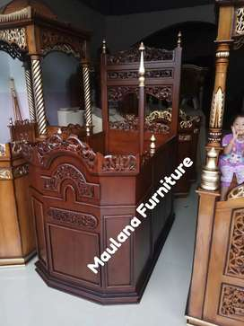 Mimbar podium masjid ready