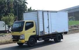 Truk engkel colt diesel + mobil truk besar untuk disewakan