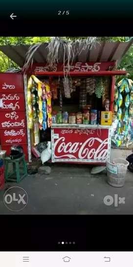 Pan shop at akkyapalem only rent