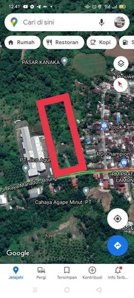 Tanah 4,3H di dekat play over Kairagi Ring Road