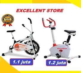 sepeda statis platinum bike FC-78 magnetik bike II treadmill
