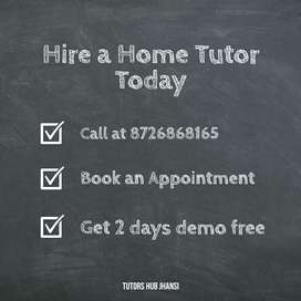 Best Home tuition institute in Jhansi