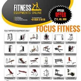 Treadmill Showroom all Equipments