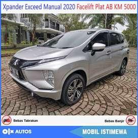 Xpander Exceed MT 2020 Facelift AB Tgn1 KM 5000 Bisa Kredit