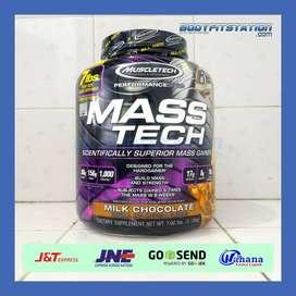 MuscleTech Mass Tech 7 Lbs / 7lb 7lbs berat bulk bulking lb gainer mas