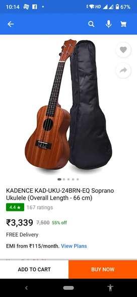 Brand new Kadence ukulele