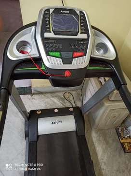 Aerofit Treadmill with inclination