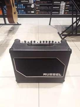 Russel RG 15 cd bisa cicilan dan cas ampli gitar elektrik