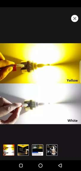 Double color led light for all cars and bikes