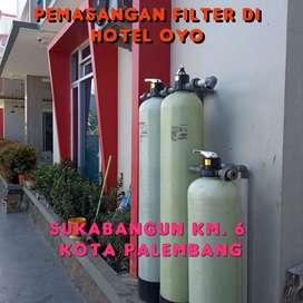 Filter Air PAM & Sumur Bor kotor, keruh, karat wilayah kota Prabumulih