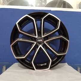 Velg Mobil Pelek HSR Wheel YUNIKU 5089 R17 Lubang 5x112 ET45 Terbaru