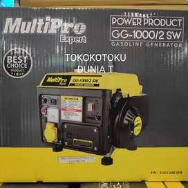 Genset Multipro 1000 Watt Generator 2 Tak Multipro GG-1000/2SW