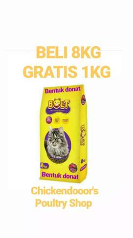 Makanan kucing cat food bolt 8kg tuna no maxi momo whiskas felibite