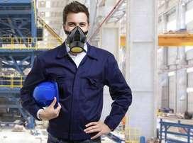 Masker safety single