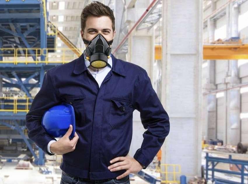 Masker safety single 0