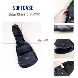 tas gitar classic jumbo softcase gitar klasik nylon jumbo soft case