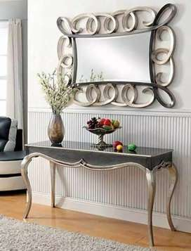 Hd quality  miror with counsole