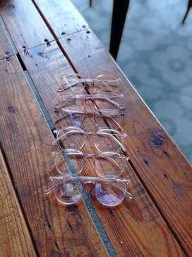 Kacamata anti radiasi/ kacamata blue control/ kacamata kekinian
