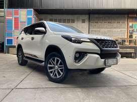LOW KM !!! Toyota Fortuner VRZ 2017 Dobel Cakram bs tt Ajukan Venturer