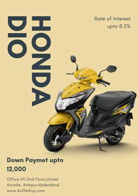Get New Honda Dio,Get Lowest Down Payment and Lowest Rate of Interest